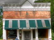 Ice Cream Parlor, for sale, in Galien, Michigan.