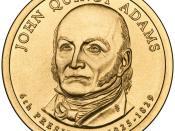 English: Presidential $1 Coin Program coin for John Quincy Adams. Obverse.