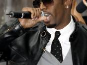 English: Sean Combs, a.k.a. Diddy, performing on the Today show in 2006.