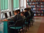Internet in Bemowo Library.