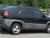 2001 Pontiac Aztek photographed in USA.