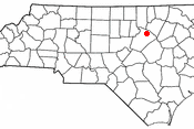 Adapted from Wikipedia's NC county maps by Seth Ilys. Category:North Carolina Dot Maps