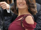 English: Salma Hayek at the Cannes film festival
