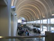 Los Angeles International Airport Terminal 4 concourse, 2006