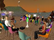 Meeting with Grad Students in Second Life