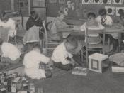 Miss Boyers Kindergarten Class, 1917 (4363303445)