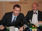 English: Edward Johns, Associate Director for International Affairs, AARP Washington DC. Press Conference, 27 October 2008, Presseclub Concordia, Vienna/Austria