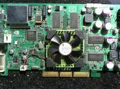 English: NVIDIA engineering sample graphic card