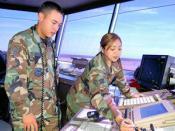 English: Training at Keesler AFB
