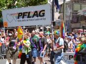 PFLAG contingent at San Francisco Pride 2004.