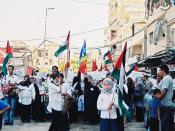 Alljährliche, quasi-obligatorische Demonstration zur Erinnerung an das Sabra and Shatila Massaker. Siehe: de.wikipedia.org/wiki/Massaker_von_Sabra_und_Schatila en.wikipedia.org/wiki/Sabra_and_Shatila_massacre