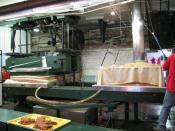 English: Apple pressing at Yates Cider Mill.