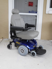 English: Pride Jazzy Select power chair