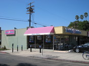 Baskin-Robbins ice cream restaurant on Melrose in Los Angeles, California