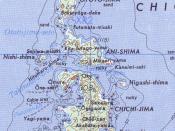 Map of Chichi-jima, Ani-jima and Otouto-jima