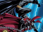 Cover of Spawn/Batman Polish edition Art by Todd McFarlane