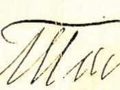 English: Signature of Leo Tolstoy