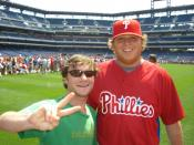 English: Mike Zagurski of the Philadelphia Phillies baseball team, photo day 2007 at Citizens Bank Park, Philadelphia, PA