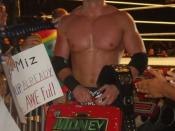 English: The Miz at a Puerto Rico house show