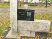 English: Raymond Carver Park and Memorial in Clatskanie, Oregon.