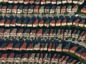 English: An aerial view of housing developments near Markham, Ontario Photo by IDuke, November 2005. Français : Vue aérienne des lotissements près de Markham en Ontario en Novembre 2005