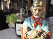Giuseppe Garibaldi - Portrait of an Italian Patriot with Red Wine & Cabbage