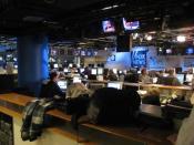 English: FOX News Channel newsroom
