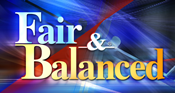 Fair & Balanced graphic used in 2005