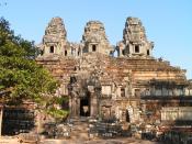 Temple-mountain Ta Keo at Angkor