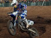 Antonio Cairoli ITA, FMI Yamaha FIM MX Mallory Park 2008 round 6