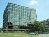 English: GEICO headquarters in Chevy Chase, on the border with Washington.