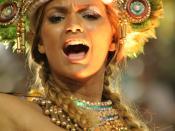 English: Carnival, Marquês de Sapucaí, in Rio de Janeiro, Brazil Português: Carnaval, Marquês de Sapucaí, in Rio de Janeiro, Brazil
