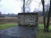 Bergen Belsen Concentration Camp Entrance