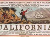 English: Sailing to California for the California Gold Rush (originally published in 1850s).