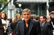 George Clooney @ Men Who Stare At Goats screening