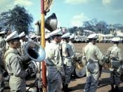 Qui Nhon - RVN Band, Premier Visit, 21 Apr 65