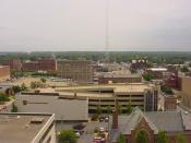 Downtown Terre Haute.