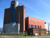 Stella Artois brewery in Leuven, Belgium.