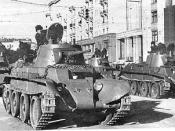 Soviet BT-7 tank (second variant), from http://www.battlefield.ru