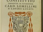 Coat of arms of Cardinal Giovanni Girolamo Lomellini (1607-1659)