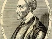 English: Jerome Cardan 1501-1576 Français : Jérôme Cardan est un mathématicien, un philosophe, un astrologue, un inventeur, et un médecin italien né en 1501 et mort en 1576.