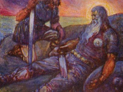 Death of Beowulf
