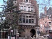 House designed by Tubby for William H. Childs (inventor of Bon Ami Cleaning Powder) on Prospect Park West. Now an Ethical Culture Society building.