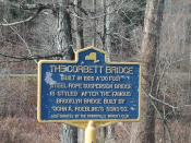 Corbett Bridge Historical Marker