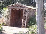 The Dell in the gardens of Blickling Hall - Rustic Summerhouse