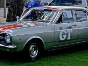 English: XR Ford Falcon GT in Gallaher Silver one of only eight built.