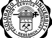 Seal of Colorado State University (Trademark of CSU)