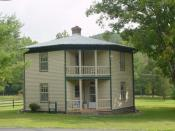 English: Octagon House (c. 1890) on Capon Springs Road (County Route 16) in Capon Springs Category:Images of West Virginia