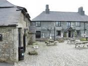 English: Jamaica Inn Located at Bolventor and made famous by Dame Daphne du Maurier DBE (13 May 1907–19 April 1989) was a famous British novelist best known for her short story