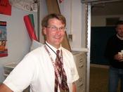 Mathematics instructor David Pease teaches algebra, trigonometry, and AP-level courses.